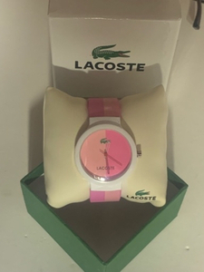 Used LACOSTE watch new with box  in Dubai, UAE