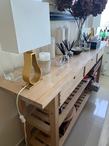 Used Long IKEA bench with drawers in Dubai, UAE
