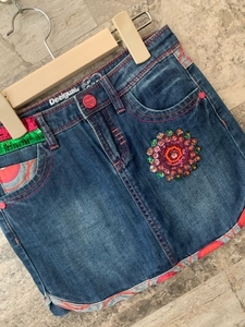 Used Brand New Desigual Skirt, 9-10years in Dubai, UAE