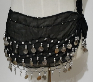 Used Belly Dance Hip Shawl in Dubai, UAE