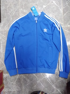 Used Blue adidas jacket, trouser UAE promo in Dubai, UAE
