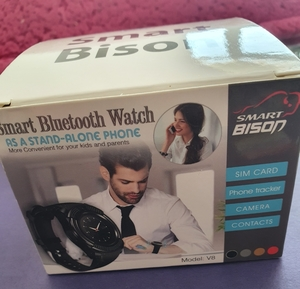 Used New smart mobile watch w camera in Dubai, UAE