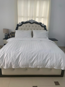 Used Queen size bed (without mattress) in Dubai, UAE