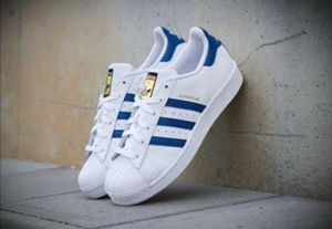 Used Adidas superstar size 43, new in Dubai, UAE