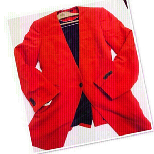 Used Sacoor Red/orange blazer S/M ♥️ in Dubai, UAE