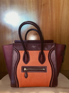 Used Celine burgundy red & orange in Dubai, UAE