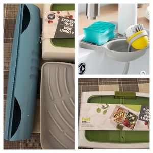 Used Kitchen items lunch box & sink corner in Dubai, UAE