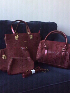 Used new FOUR bags for the price of ONE in Dubai, UAE