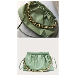 Used Bottega Veneta bag Mint green🔥🔥 in Dubai, UAE