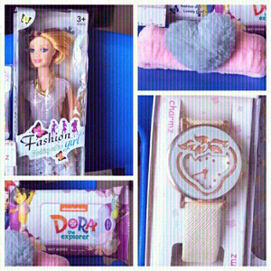 Used New Quality Barbie doll,wipes & watch💥 in Dubai, UAE