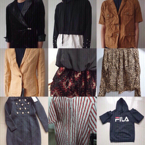 Used ❗️BRANDED/DESIGNER CLOTHES BUNDLE (100) in Dubai, UAE