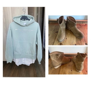 Used New Zara jumper + Zara boots  in Dubai, UAE
