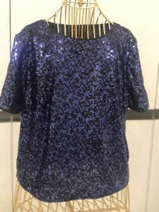 Used Double layer sequin top from new look in Dubai, UAE