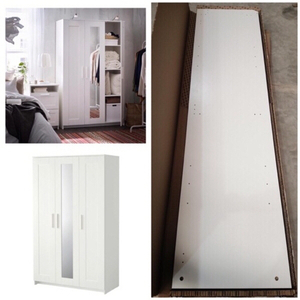 Used Ikea wordrobe with 3 doors دولاب ملابس in Dubai, UAE
