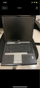 Used Dell laptop with original charger in Dubai, UAE