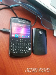 Used Curve BlackBerry in Dubai, UAE