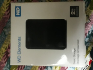Used WD 2 TB ELEMENTS HARD DRIVER EXTERNAL in Dubai, UAE