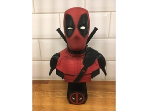 Used 3D Pinted Deadpool Bust in Dubai, UAE