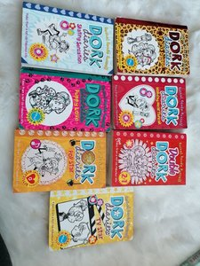 Used Dork diaries 7 books!! in Dubai, UAE