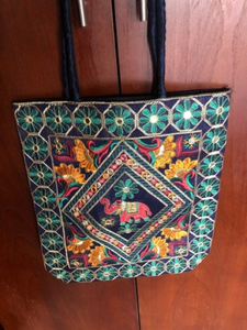 Used Bag for daily use. Embroidered front  in Dubai, UAE
