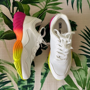 Used Asos colorful sneakers (39) in Dubai, UAE