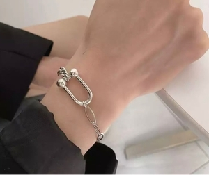 Used 925 Sterling silver bracelet new  in Dubai, UAE
