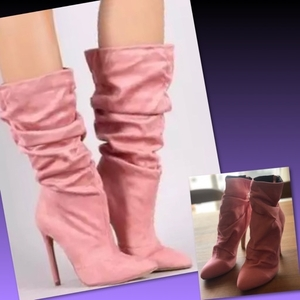 Used WOMEN PLEATED BOOTS/38 in Dubai, UAE