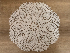Used White crochet coaster  in Dubai, UAE