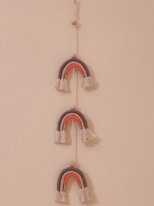 Used Wall decoration Rainbow garland in Dubai, UAE