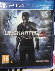 Used Uncharted 4 PS4 game in Dubai, UAE