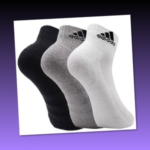 Used 12 pairs Adidas  Socks for Men/43-46 in Dubai, UAE
