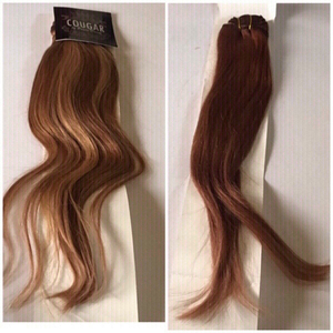 Used 2ً clip in Remy hair (new) in Dubai, UAE