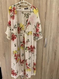 Used Max Floral Maxi Open Dress in Dubai, UAE