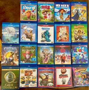 Used Bluray cartoons  in Dubai, UAE