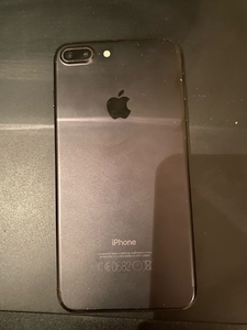Used iPhone 7 plus matt black in Dubai, UAE