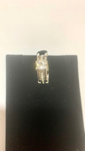 Used Interchangeable Round Cut Silver Ring in Dubai, UAE
