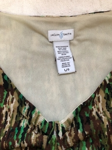 Used preloved Jaclyn Smith Top Large size  in Dubai, UAE