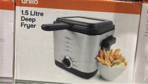 Used Deep Fryer 1.5 litre Anko Brand in Dubai, UAE
