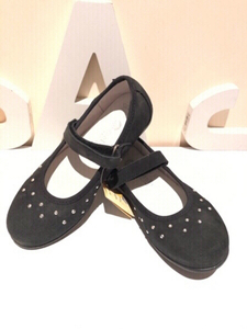 Used Black ballerinas size EU 33 Melania  in Dubai, UAE