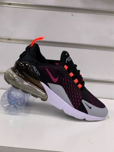 Used Nike Airmax 270 black/grey size 45 in Dubai, UAE