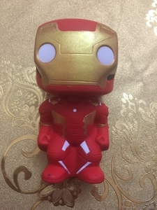 Used Ironman squishy toy for kids 3years up in Dubai, UAE
