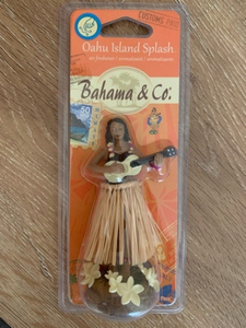 Used Bahamian dancing girl car decoration in Dubai, UAE