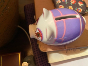 Used Porcelain piggy bank miniature  in Dubai, UAE