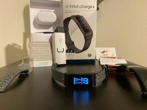 Used FitBit Charge 4 (Special Edition) in Dubai, UAE