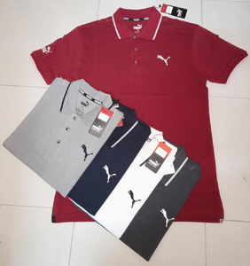 Used Puma men polo t-shirt 4pcs in Dubai, UAE