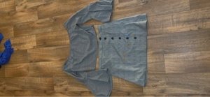 Used Skirt and shirt set size M/L in Dubai, UAE
