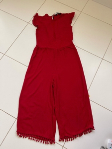 Used Zara pom pom jumpsuit  in Dubai, UAE