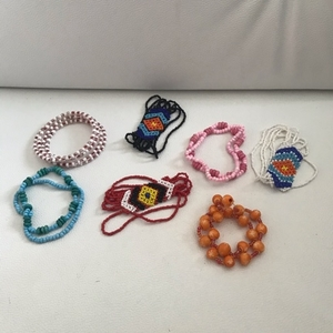 Used Bundle of 7 Bracelets  in Dubai, UAE