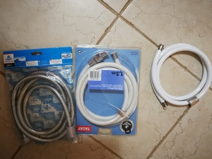Used 3 different new shower wires in Dubai, UAE