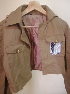 Used Attack on titan cosplay jacket (S) in Dubai, UAE